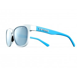 Lunettes Swank, Frost/Powder Blue Smoke Bright Blue Single Lens