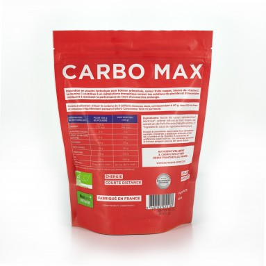 CarboMax fruits rouges bio Doypack 500grs